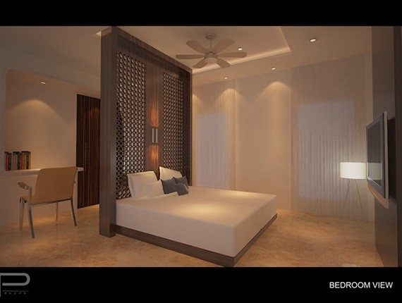 jayachandran house BEDROOM VIEW 1